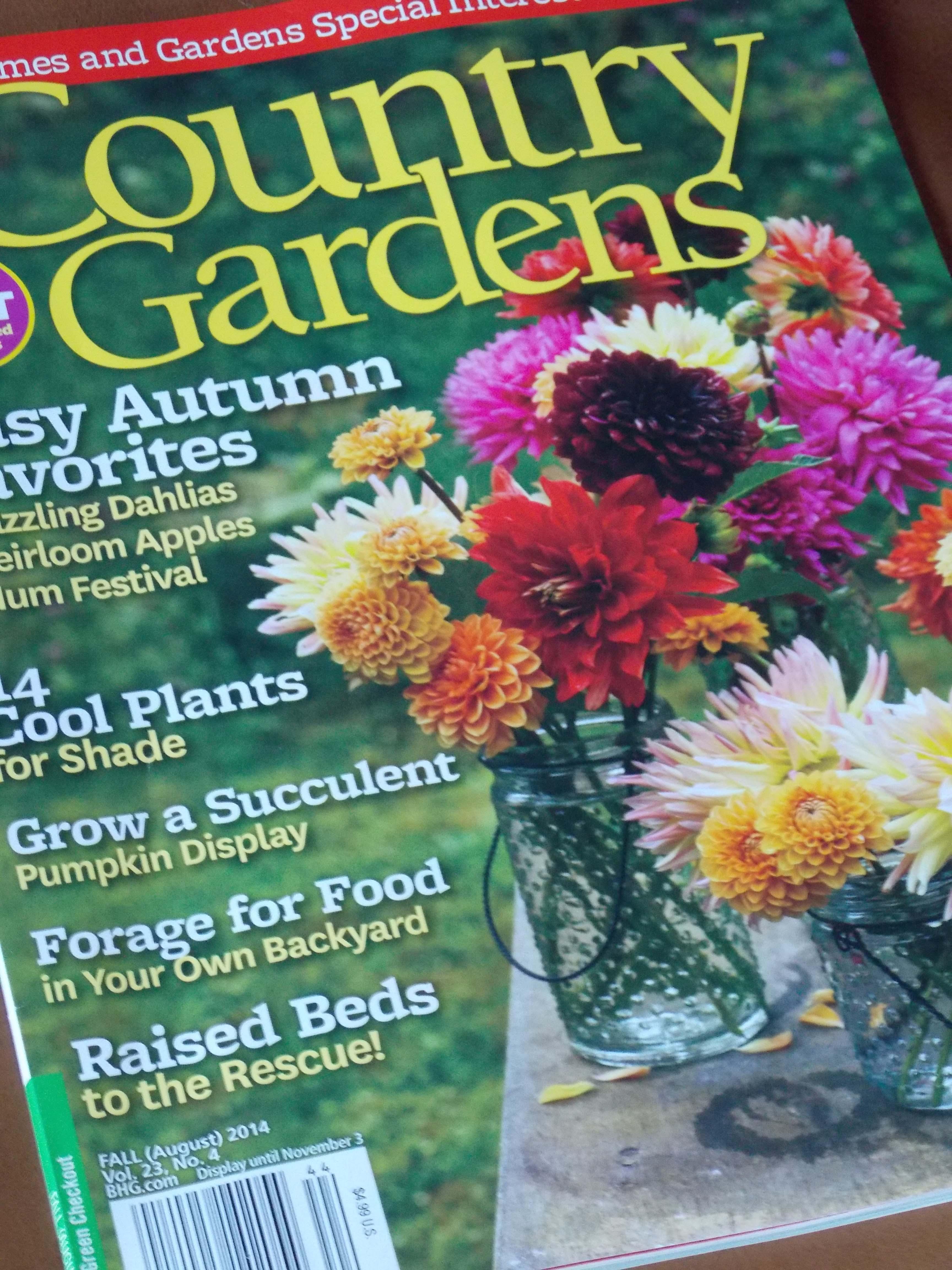 My Garden A Country Gardens Award Winner A Labor Of Love The